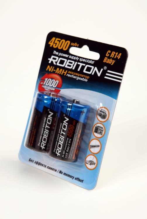 Аккумулятор AA - Robiton 2850 mAh 2850MHAA-4/box BL4 (4 штуки)