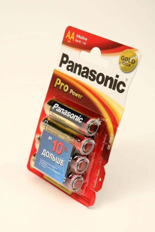 Panasonic Pro Power LR6PPG/4BP LR6 BL4