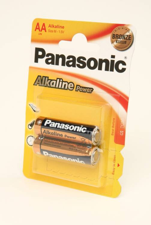 Panasonic Alkaline Power LR6APB/2BP RU LR6 BL2