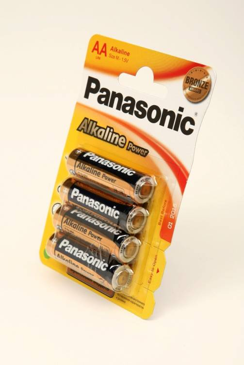 Panasonic Alkaline Power LR6APB/4BP LR6 BL4
