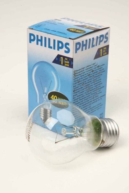 PHILIPS A55 40W E27 CL 354532