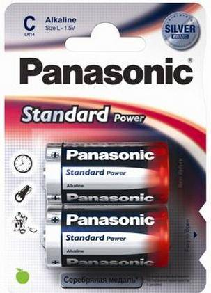 Panasonic Everyday Power LR14EPS/2BP LR14 BL2