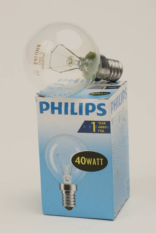 PHILIPS P45 40W E14 CL 011862