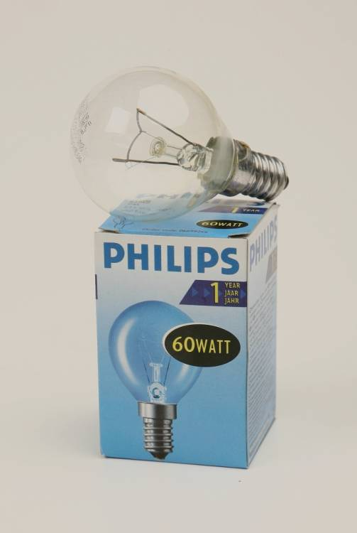 PHILIPS P45 60W E14 CL 066992