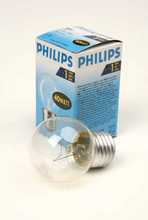 PHILIPS P45 40W E27 CL 011886