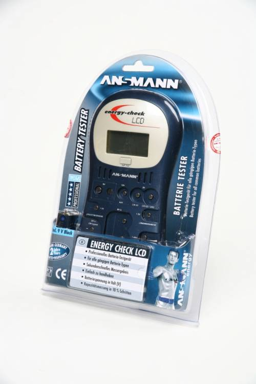 ANSMANN 4000392 Energy Check LCD BL1