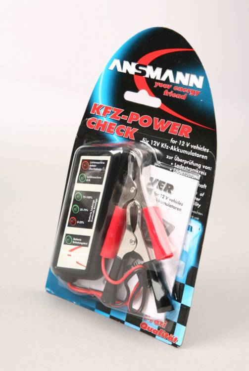 ANSMANN 4000002 KFZ Power Check  BL1