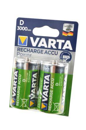 VARTA 56720 Ready 2 Use D 3000мАч BL2